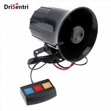 30W 12V 3 Sound Speaker Loud Siren Horn 105db for Car / Motorcycle New Listing цены