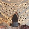 СВЕТОДИОДНАЯ Гирлянда Nieuwe 2 м, 5 м, 10 м, водонепроницаемая, 3 режима, фонарики, праздничная гирлянда для рождества, украшение для свадебвечерни...