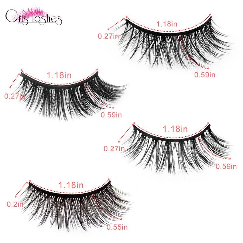 Magnet eyelash set (9)