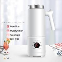 220V Soymilk Machine Electric Kettle Multi function Automatic Heatable Soya Bean Milk Juicer Stir Rice Paste Maker Filter free