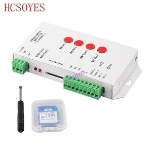 Image 3 - K 1000C (T 1000S更新) コントローラK1000C WS2812B、WS2811 、APA102 、t1000S WS2813 led 2048 ピクセルプログラムコントローラDC5 24V
