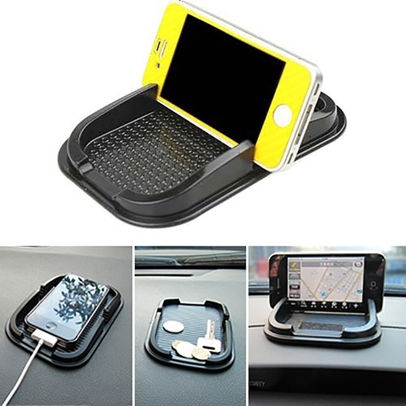 Car Dashboard Sticky Pad Mat Anti Non Slip Gadget Mobile Phone GPS Holder Phone Mount