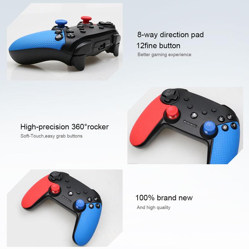Image 3 - Senza Fili di Bluetooth Remote Controller Gamepad Per Nintend  Switch di Console Per Android Smarthone Per PC Controle Joystick-in  Gamepad da Elettronica di consumo su