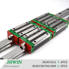 HIWIN HGH35 Linear Guide Rail and Blocks Carriage HGR35 700 800mm Linear Guideways for CNC Parts High Precision Machine Center