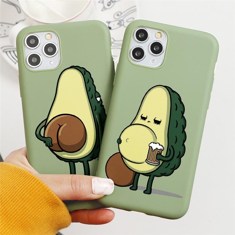 Cute Avocado Case 33