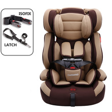 Portable Baby Safety Seat Lightweight Children Car Seat Isofix Latch Interface Infant Sitting Chair Kids Car Seat for 1~12 Y