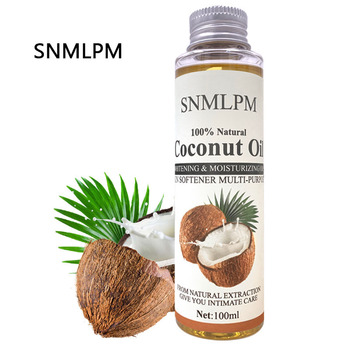 Natural Organic Coconut oil Body Face Oil Massage Relaxation skin coconut essential 100ml кокосовое масло