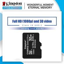 Kingston Micro tarjeta SD tarjeta de memoria de 16GB 32GB 64GB MicroSD Class10 TF/tarjeta SD de 128GB 256GB 512GB 1T MicroSDHC UHS-1 para Smartphone