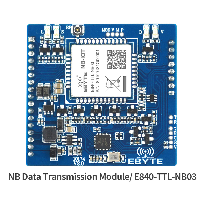 NB-IoT  Serial Port TCP UDP Protocal B8 Frequency Ebyte E840-TTL-NB03 IPEX Interface M2M Wireless Transceiver Module