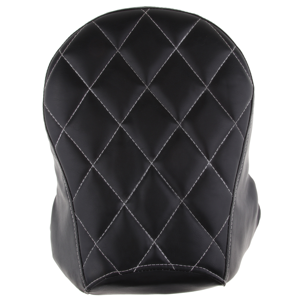 Soft Synthetic Leather Rear Passenger <font><b>Seat</b></font> Anti-skid for Sportster XL <font><b>883</b></font> XL 1200 image