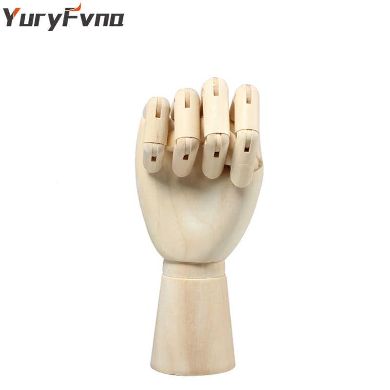 YuryFvna Mannequin en bois dessin à la main croquis Mannequin modèle Mannequin en bois avec support membres mobiles modèle d'artiste humain