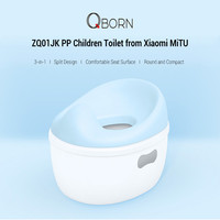 Qborn Zq01jk 3 In 1 Portable Children Toilet Bowl Toilet Seat Step Stool Detachable Toilet Training For Kids From Youpin