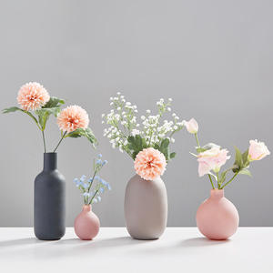 Home Decoration Accessories Modern Flower Vase Vases for Flowers Ceramic Vase Small Living Room Decoration Office Decoration