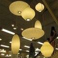 Японская люстра скандинавские подвесные потолочные светильники акриловый шар Скандинавская лампа Vertigo Лофт стиль бумажная люстра светиль...