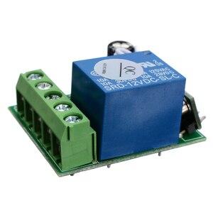 Image 4 - DC12V 10A DIY Không Dây Rơ Le Điều Khiển Từ Xa Switchs Mô Đun 1 Kênh Thu Sóng Không Dây Tiếp RF 433MHz Điều Khiển Từ Xa