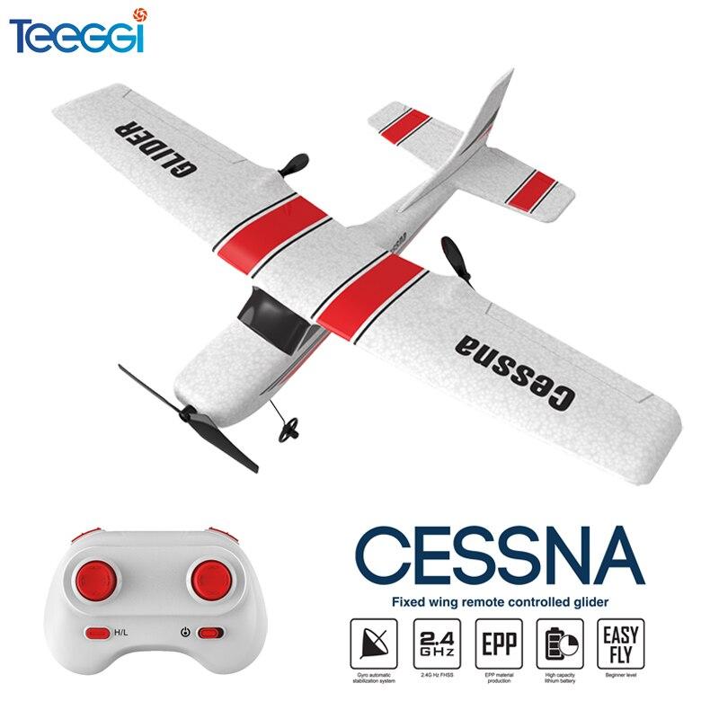 Z53 RC avion EPP mousse planeur RC avion gyroscope 2.4G télécommande envergure Cessna 182T électrique extérieur aile fixe avion jouet 1