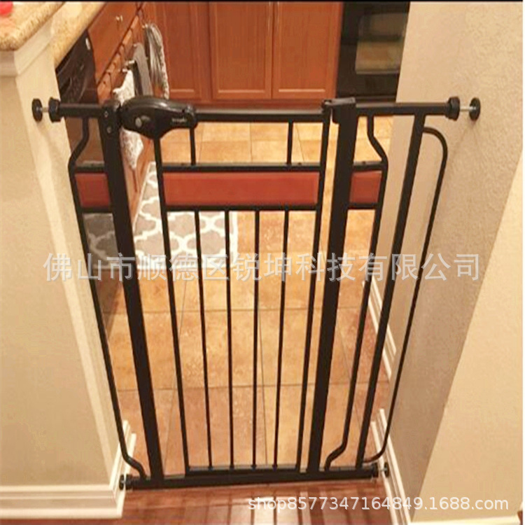 Children Door Fence Parapet Machine Wall Defender Guardrail Protective Cover Hole Punched 80mm Baby Fence