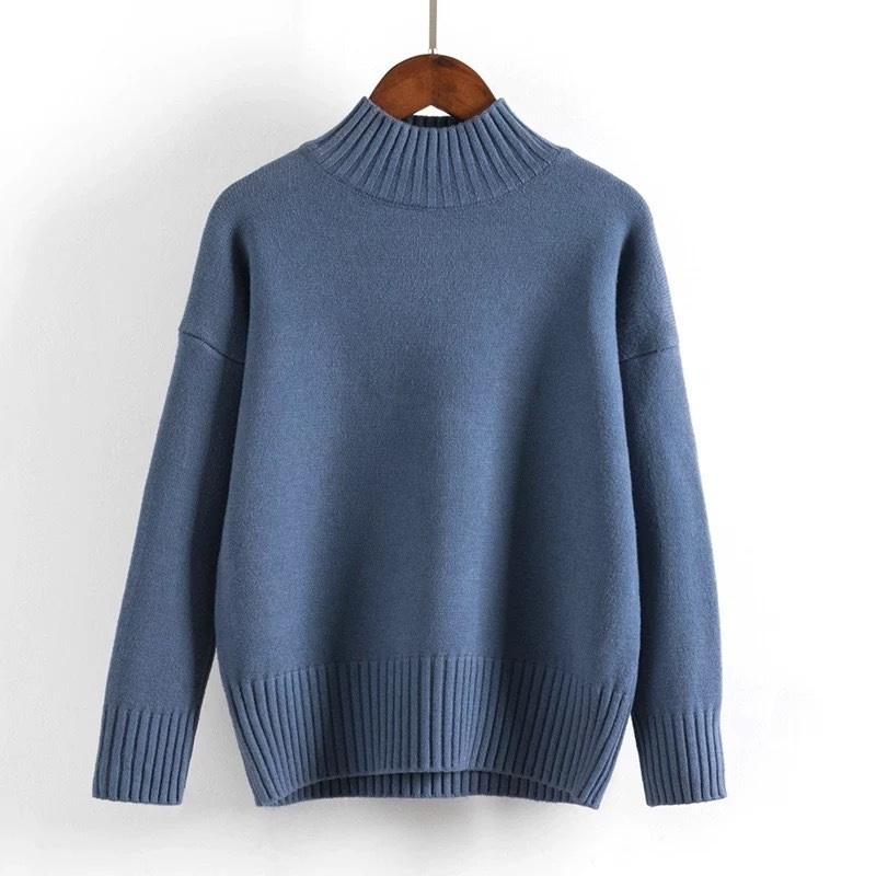 Cashmere Turtleneck Sweater Women 2021 Fashion Autumn Winter Pullover Jumper Pull Femme Hiver Streetwear Casual Knitted Sweater 3