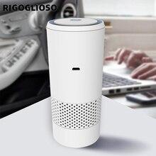 RIGOGLIOSO очиститель воздуха автомобиля освежитель для дома фильтр HEPA фильтр ионизатор стерилизации удалить пыль, сигаретный запах чище