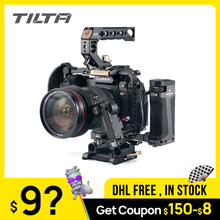 Camera Cage TILTA Micrphone PANASONIN Black W/cold-Shoe-Mount for S1 S1h/S1r/Dslr-camera