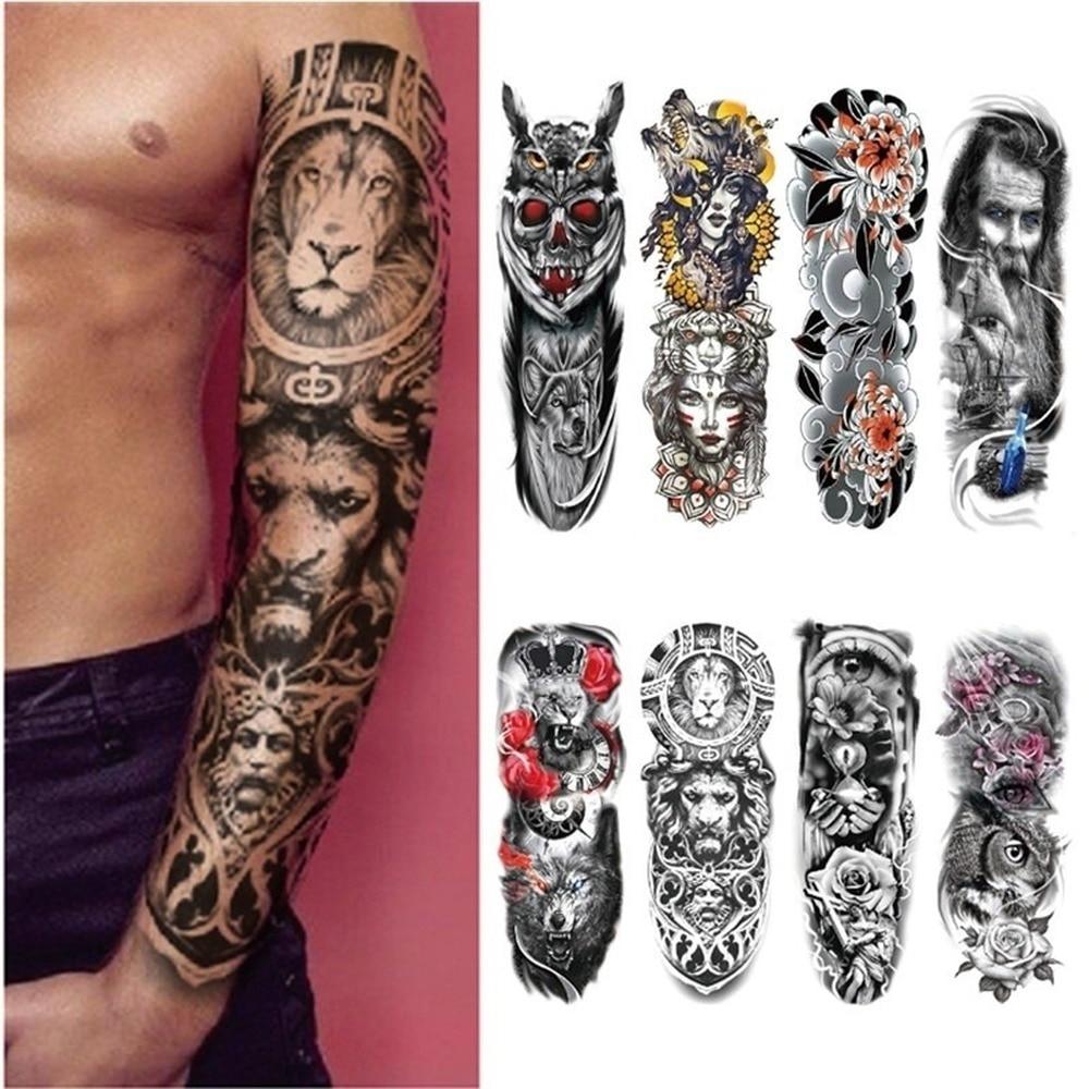 Tattoo Sticker Temporary Tattoo Fake Tattoos Fashion Body Art Arm Tattoo