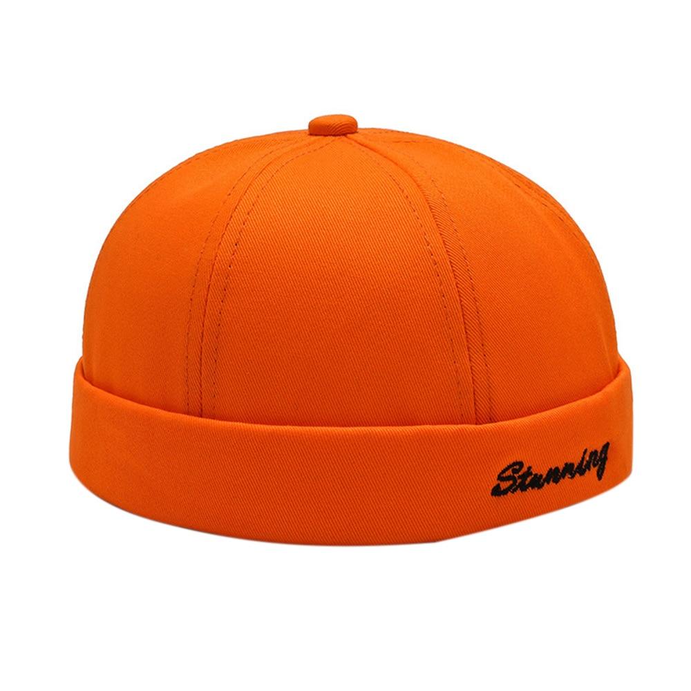 Beanie Knitted Hat Hiking Knit Cap Stylish Men Beanie Visor Landlord Hat Street Trendsetter Hip Hop Hat without Brim