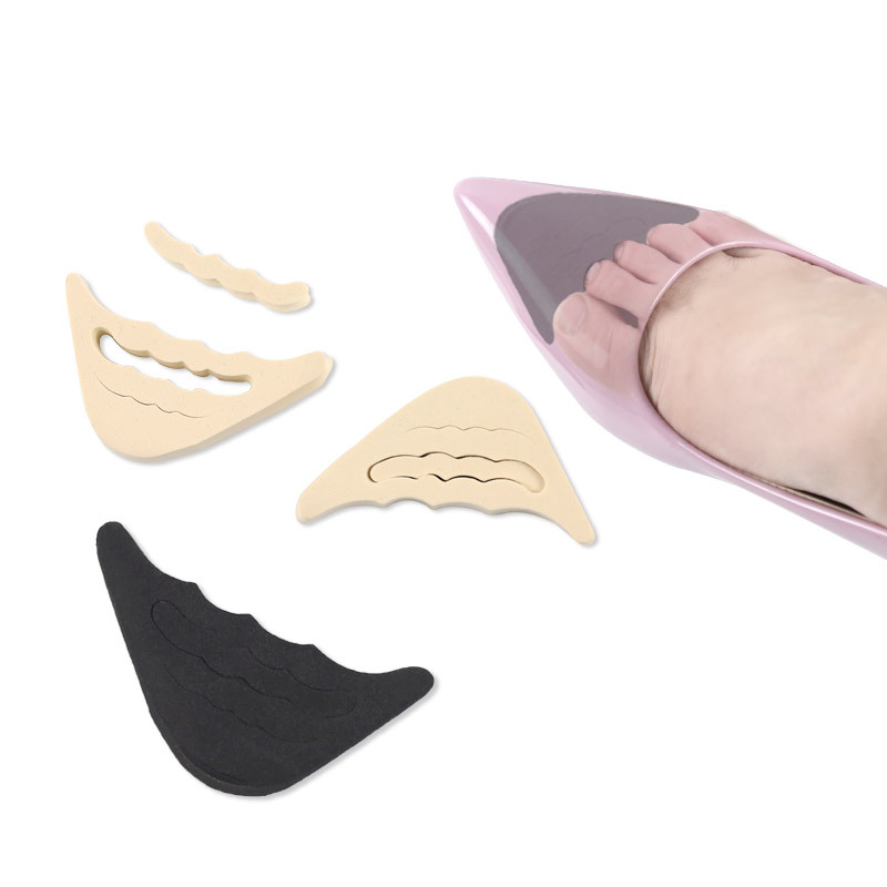 1 Pair Forefoot Insert Women High Heels Toe Plug Half Sponge Shoes Adjustment Cushion Anti-Pain Insoles Shoes Accessories
