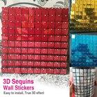 30x30cm 3D wall stic...
