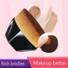 Hot 1 Pc Makeup Brush Hexagonal Powder Makeup Brush Diamond Petal Foundation Brush Hexagon No Trace Make Up Brush TSLM1
