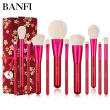 12pcs/set Makeup Brushes Set Portable Multifunctional Soft Brush Make up Women tools Beauty Girls