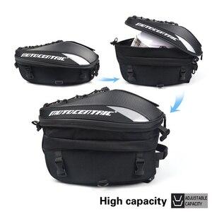 Image 3 - Новая мотоциклетная сумка большой емкости рюкзак велосипедиста многофункциональная прочная сумка для заднего сиденья мотоцикла