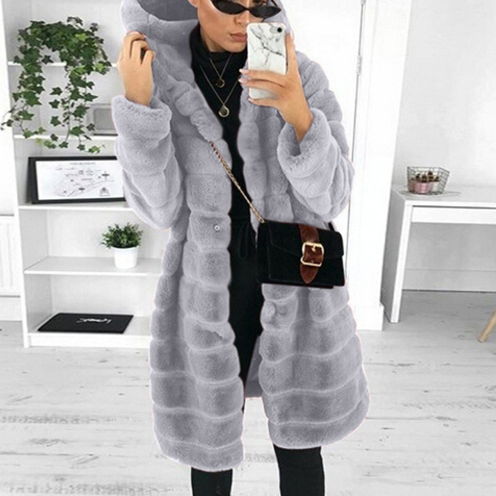 FREE OSTRICH Womens Faux Fur' Gilet Long Sleeve Waistcoat Body Warmer Jacket Coat Outwear coats and jackets women|Faux Fur| - AliExpress