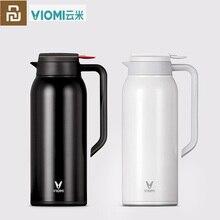 Orijinal Youpin VIOMI termo kupa 1.5L paslanmaz çelik vakum bardak 24 saat şişesi su şişesi kupası bebek açık için akıllı ev