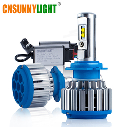 CNSUNNYLIGHT Auto Scheinwerfer H7 H4 LED H8/H11 HB3/9005 HB4/9006 H1 H3 9012 H13 9004 9007 70W 7000lm Auto Led-lampe Scheinwerfer 6000K Licht