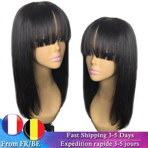 Dorisy Wigs Human-Hair-Wigs Short Brazilian-Hair Black Women Non-Remy for Bob 10-16inch