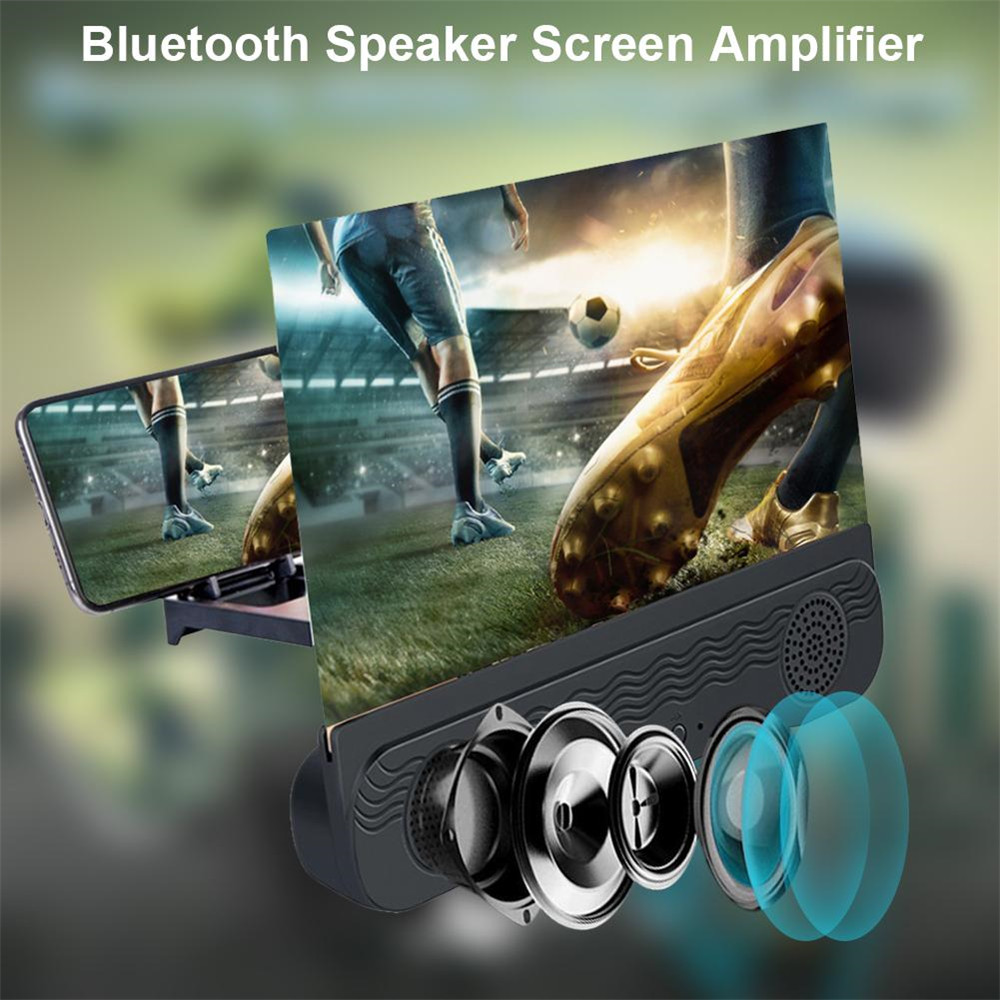 2021 New Screen Amplifier Anti-ultraviolet 4 In 1 HD Phone Screen Magnifier Suitable For All Smart Phones
