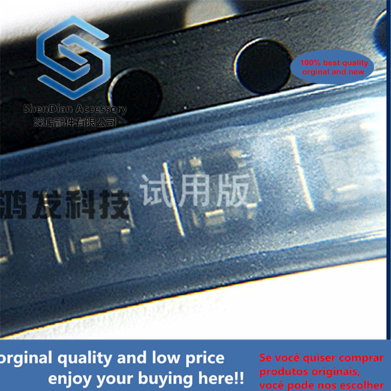 10pcs 100% Orginal New BFG10W / X RF UHF BFG10W  Crystal NPN Transistor Patch SOT-343
