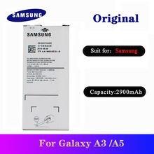 Оригинальный аккумулятор eb ba510abe для samsung a3 мобильных