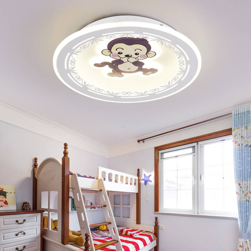 LED Ceiling lights Iron fixtures children bedroom Ceiling lamps Modern luminaires home illumination living room Ceiling lighting|LED Modules| |  -