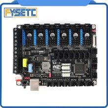 S6 V1.2 kurulu 32 Bit kontrol panosu desteği 6X TMC sürücüleri Uart/SPI uçan tel XH/MX konektörü VS f6 V1.3 SKR V1.3