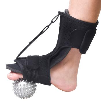 Podeszwowy Fasciitis szyna na noc Foot Drop orteza stabilizator regulowany spadek stóp orteza Brace ulga w bólu wsparcie kostki tanie i dobre opinie Produkty ortopedyczne CN (pochodzenie) Plantar Fasciitis Dorsal Foot Drop Orthosis Treat Heel Pain Relief Ankle Support Stabilizer