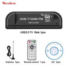 Tuner Dongle Tv-Receiver Usb-Tv-Stick RTL2832U R820T2 SDR Digital DVB-T Windows FM DAB