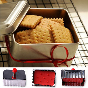 1 PC Classical Shape Cookie Molds Stainless Steel Spring Press Fondant Cutters Cookie Cutter Cupcake Decoration Tool 1