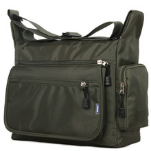 Sacchetto degli uomini del sacchetto di spalla per gli uomini crossbody borse a tracolla in nylon borsa da viaggio impermeabile sacchetto di ufficio lavoratori luce pacchetto