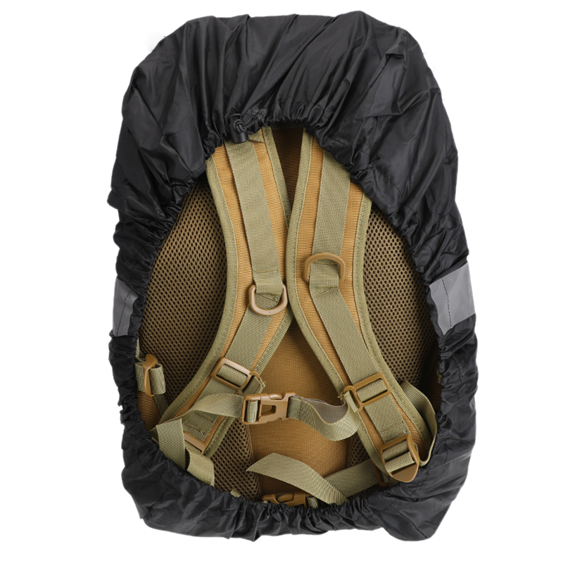 20L <font><b>35L</b></font> 45L Anti-UV Waterproof Night Reflective Tactical Outdoor Mountaineering Black Orange Dark Blue <font><b>Backpack</b></font> Rain Cover image