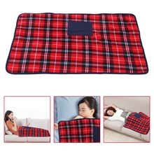 Elektrische Verwarmde Blanket5V Usb Elektrisch Verwarmde Deken Winter Auto Officeblanket Kleine Bed Warmer Pad(China)