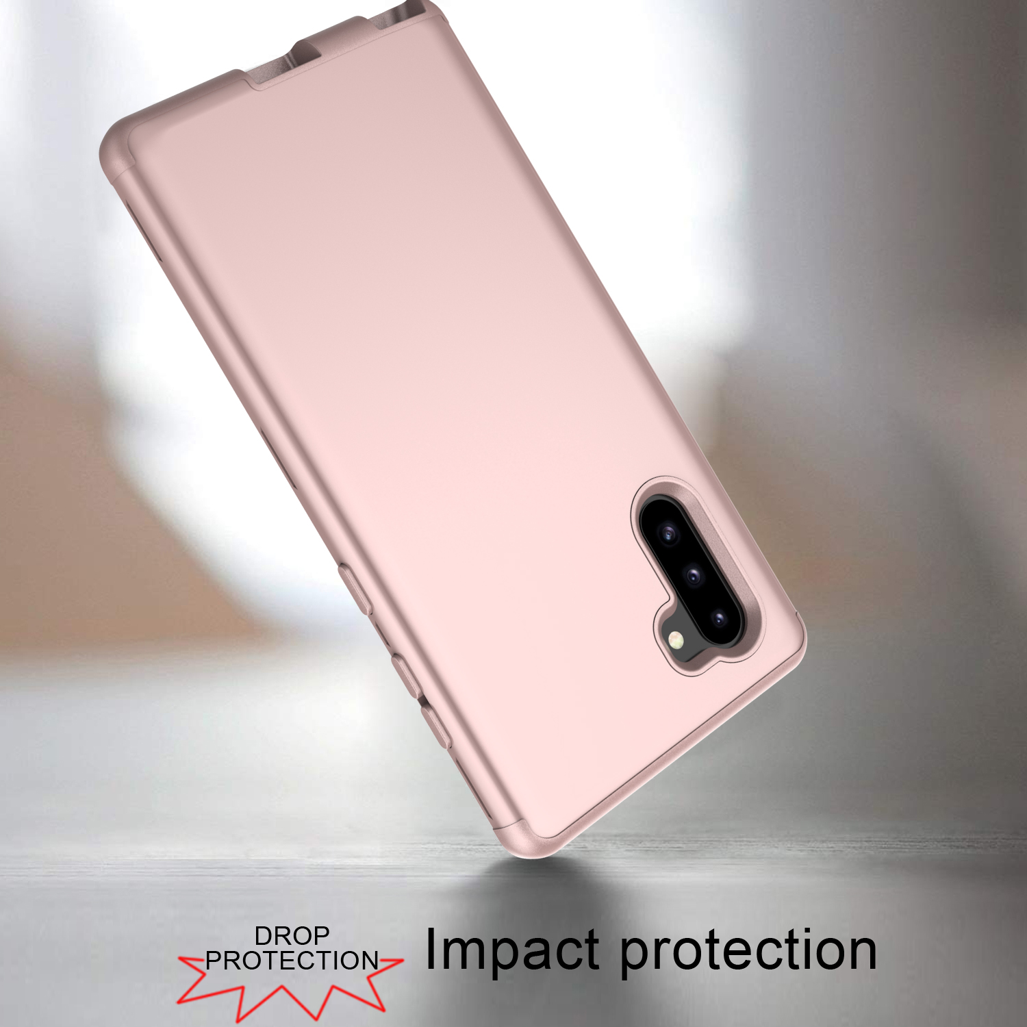 360 Full Hybrid Tough Shockproof Armor Phone Case For Samsung Galaxy Note 10 Pro S10 Plus S10E PC Silicone TPU Cover Note 9 Case in Fitted Cases from Cellphones Telecommunications