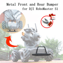Metal Front and Rear Bumper for DJI RoboMaster S1 Intelligent Educational Robot Anti-collision Protector Accessory