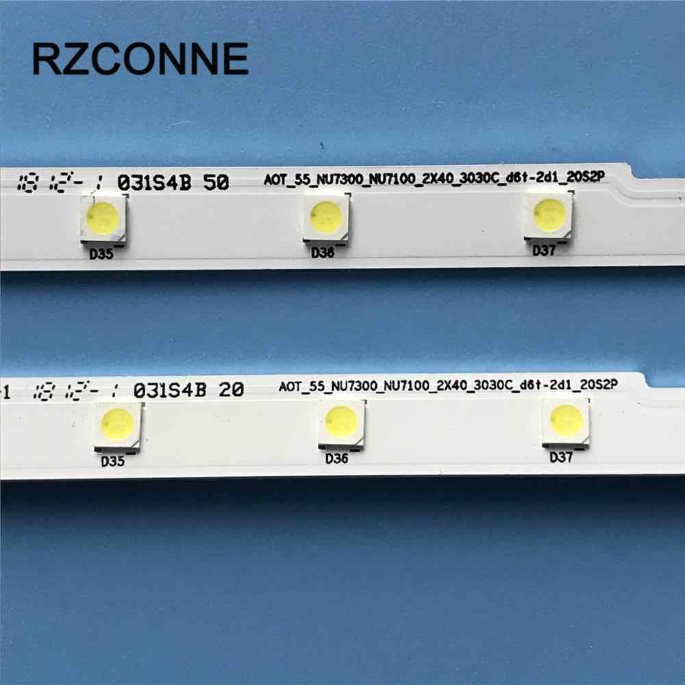 Rechte LED BACKLIGHT STRIP 50-3535LED-98EA-R aus LED TV SAMSUNG UE50EH5300.