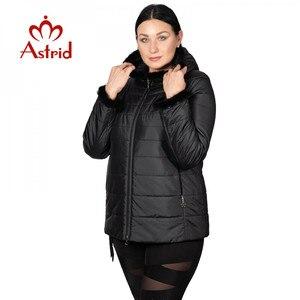 Image 1 - Hotsale חורף מעיל נשי מעיל קצר סלעית בתוספת גודל חם חפתים שעיר נשים מעיל מאנה בגדי אוקראינה מעילי AM 2059